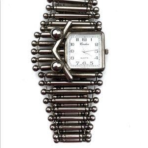 Vintage Sterling Silver Asymmetrical Watch